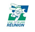 Logo ligue de judo de La Réunion